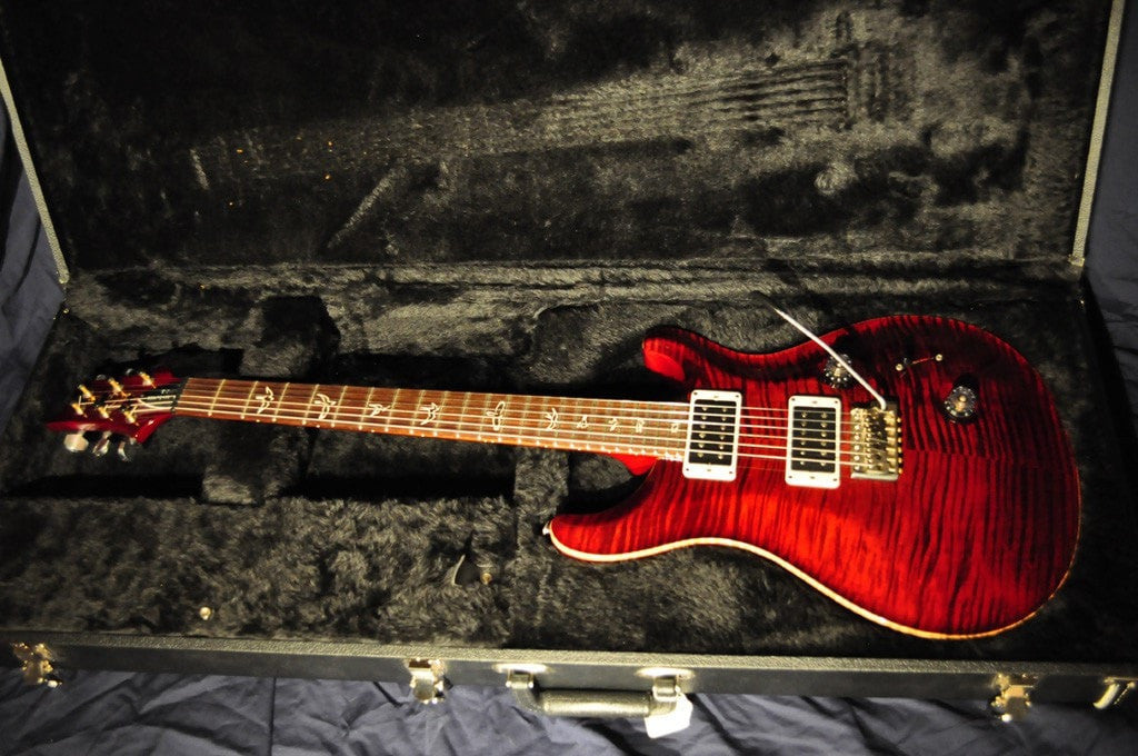 Featured: Red Burst PSR Private Electric Guitar - Sunfield Music