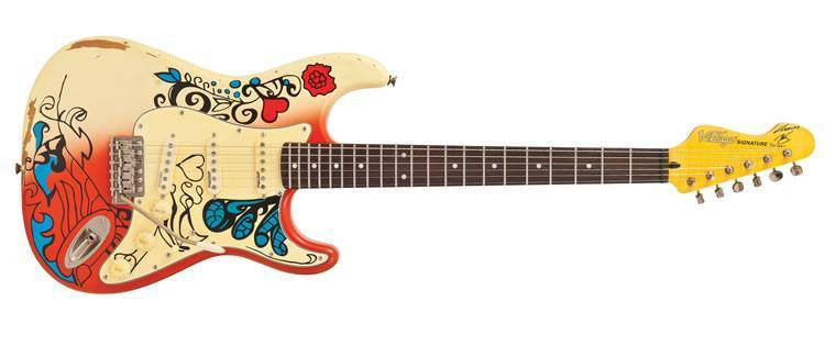 Thomas Blug 'Summer of Love' V6MRHDX ST Style Electric Guitar