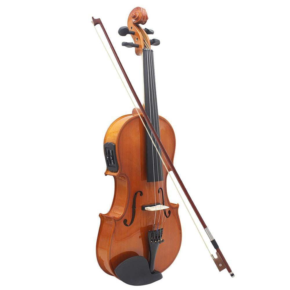 4/4 Full Size Violin Solid Wood Antique Matte Finish - Sunfield Music