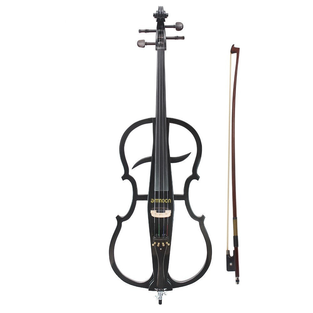 4/4 Electric Violin Cello with Ebony Fittings - Sunfield Music