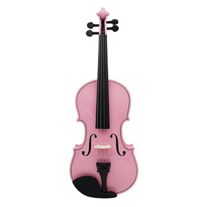4/4 Full Size Pink Violin - Sunfield Music