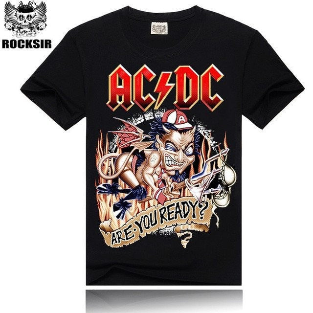 Apparel - Are You Ready AC/DC T-Shirt + 4 Other Styles