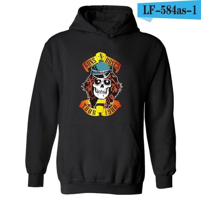 Apparel - Guns N Roses Hooded Sweatshirt
