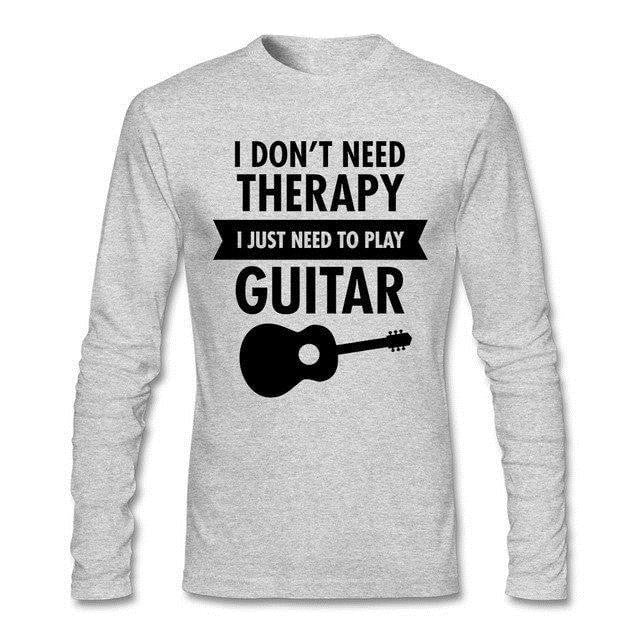 Apparel - I Don't Need Therapy Long Sleeve