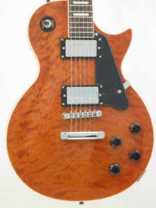 OE20 Quilted Tiger LP Style Electric Guitar