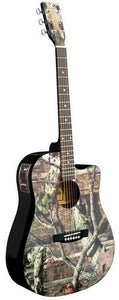 Limited Edition Infinity Camo Acoustic-Electric Guitar