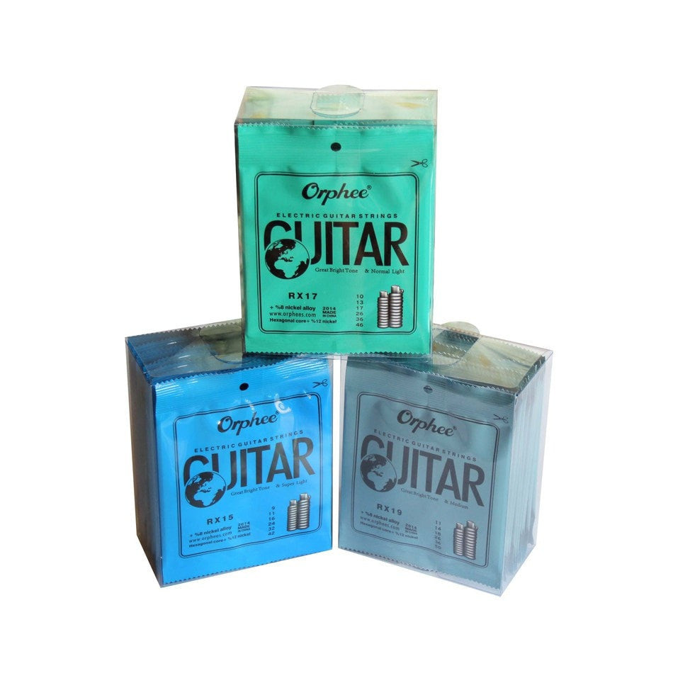 1 Set Practiced Nickel Plated Steel Guitar Strings For Electric Guitar - Sunfield Music