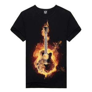 Blazin Axe Black T-Shirts - Sunfield Music