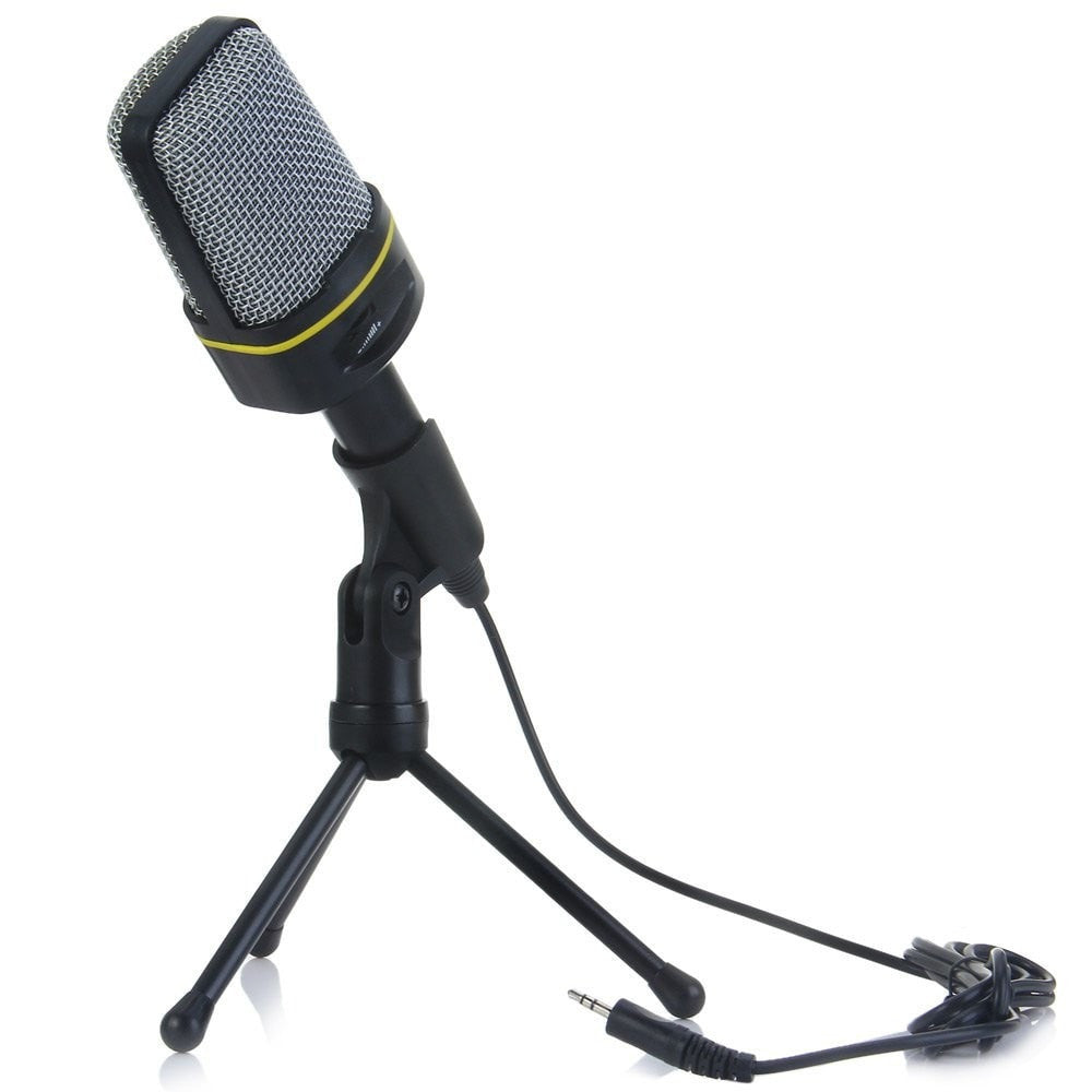 Professional Condenser Microphone Studio Sound Recording w/Shock Mount
