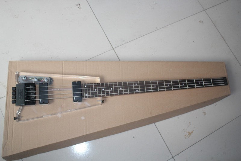 Left Handed Acrylic Headless Electric Bass