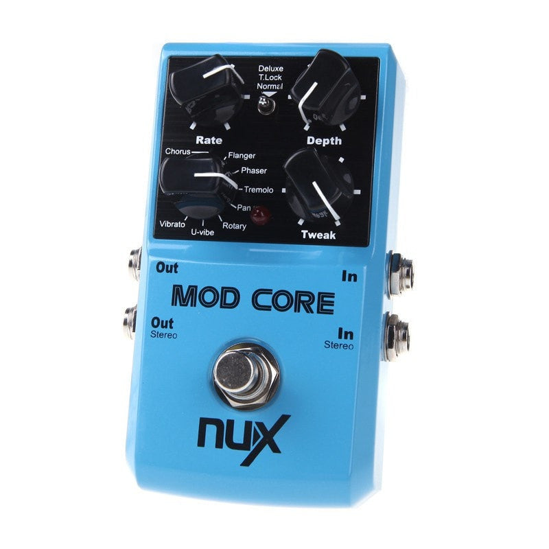 NUX MOD Core Guitar Effect Pedal 8 Modulation Presets