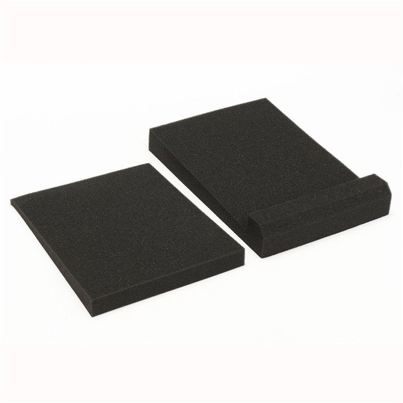 1 Set Black Studio Monitor Speaker Acoustic Isolation Foam Isolator Pads - Sunfield Music