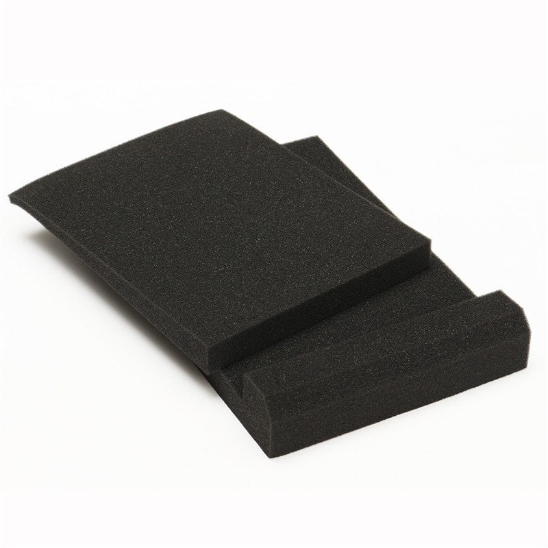 1 Set Black Studio Monitor Speaker Acoustic Isolation Foam Isolator Pads
