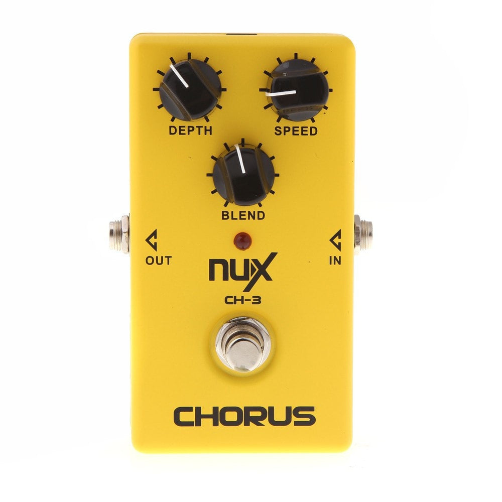 NUX CH-3 Electric Guitar Effect Pedal Chorus Low Noise BBD True Bypass