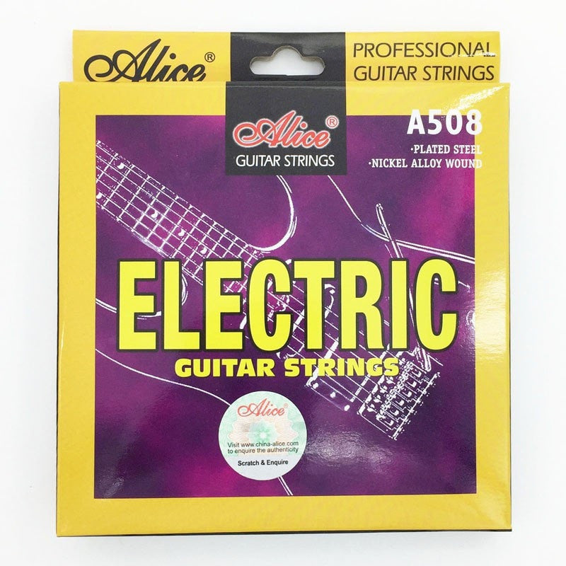 Alice Electric Guitar Strings 009-010 Nickel wound A508-SL / A508-L - Sunfield Music