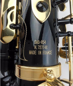 Black and Gold Selmer 54 Alto Saxophone - Sunfield Music