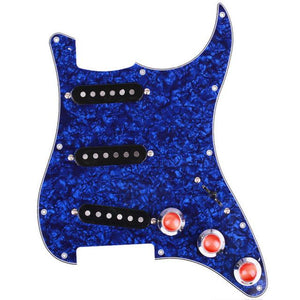 ML0211P Triple S Blue Pearl Loaded Pickguard