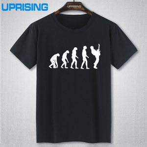 Evolution to the Guitar Player T-Shirt by Uprising - Sunfield Music