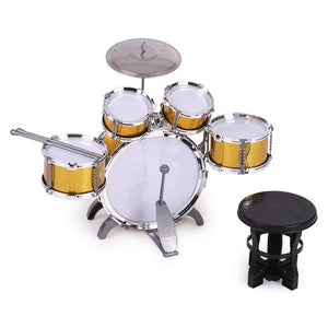Kids Drum Set | 5 Drums with a Small Cymbal