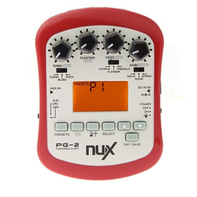 NUX PG-2 Multifunctional Portable Electric Guitar Effect Pedal