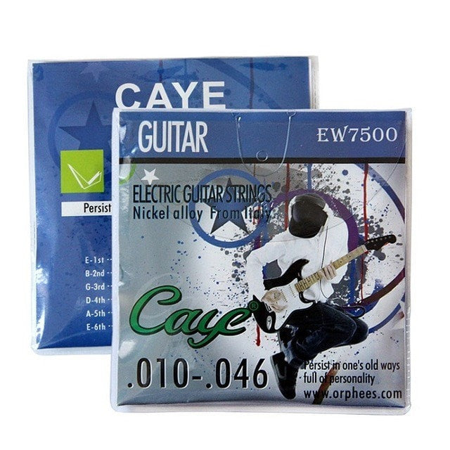 Orphee Caye-EW Series Electric Guitar Strings Set (.011-.050) (.009-.042) 6pcs/set