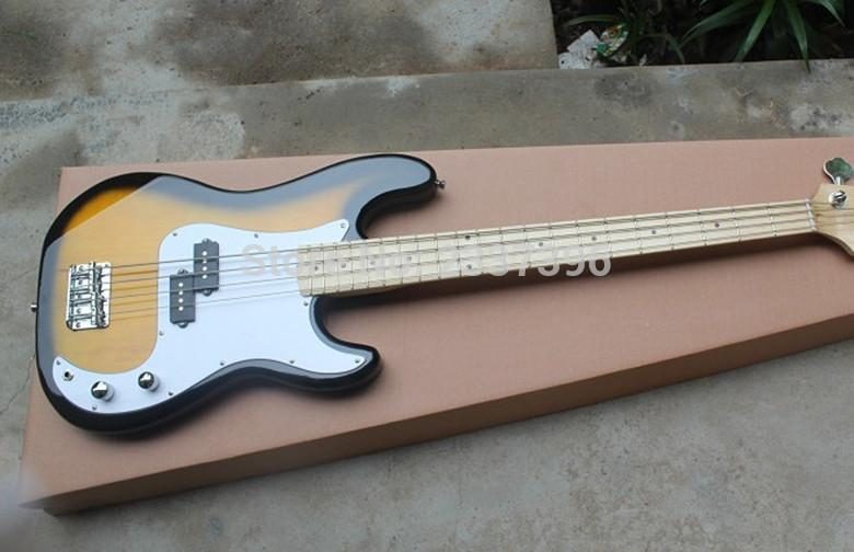 Custom Sunburst 4 String Precision Bass