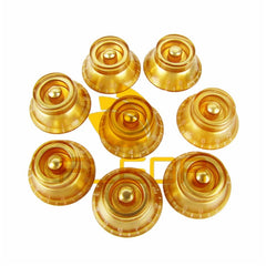 16 piece Gold Speed Control Knobs for LPs - Sunfield Music