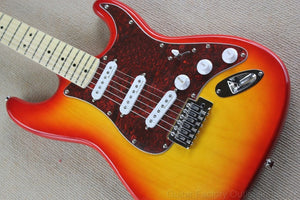 Cherry Sunburst Signature Maple ST Electric Guitar - Sunfield Music