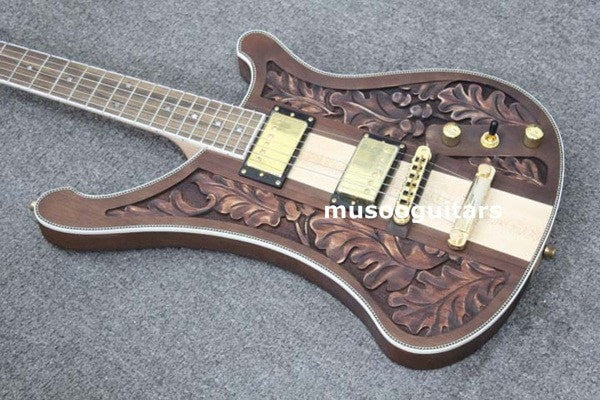Hot Custom Carving Electric Guitar - Sunfield Music