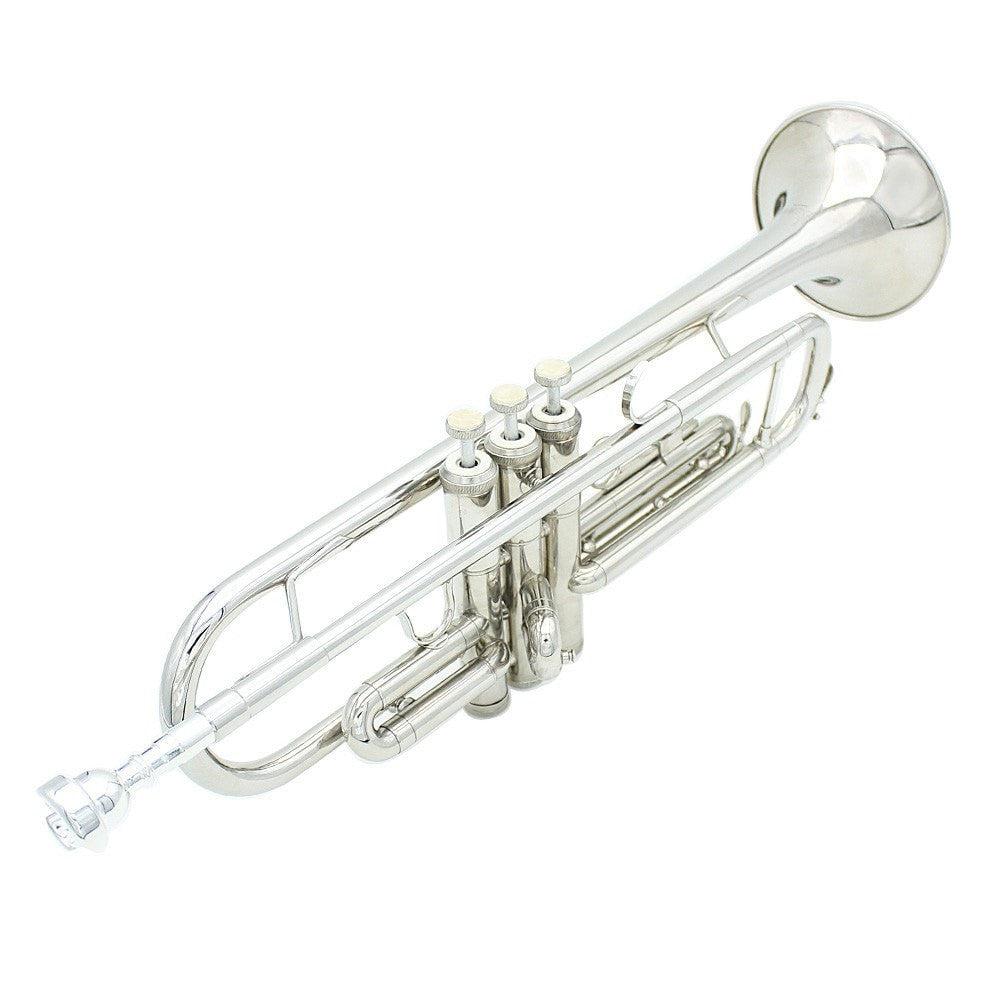 LADE Brass Trumpet Bb B Flat with Mouthpiece and Gloves