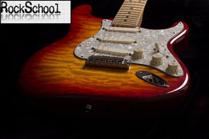 Sunburst Maple Fingerboard Electric Guitar - Sunfield Music