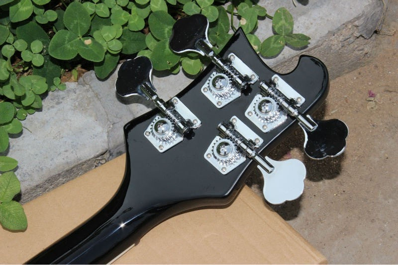 4 String Black Ricky 4003 Electric Bass Guitar