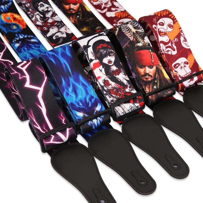 Multi Themed Bass/Electric Guitar Straps