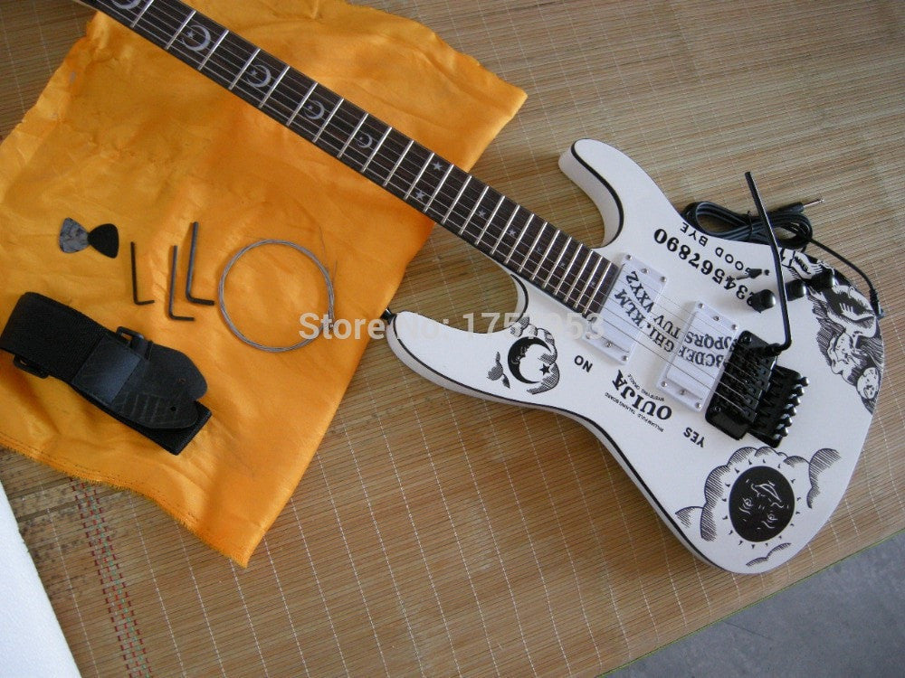 PSE KH-2 OUIJA Limited Edition Hammett Signature White with Hard Case