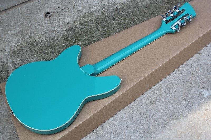 Fashionable 12 String Light Blue Ricky with R Tremolo