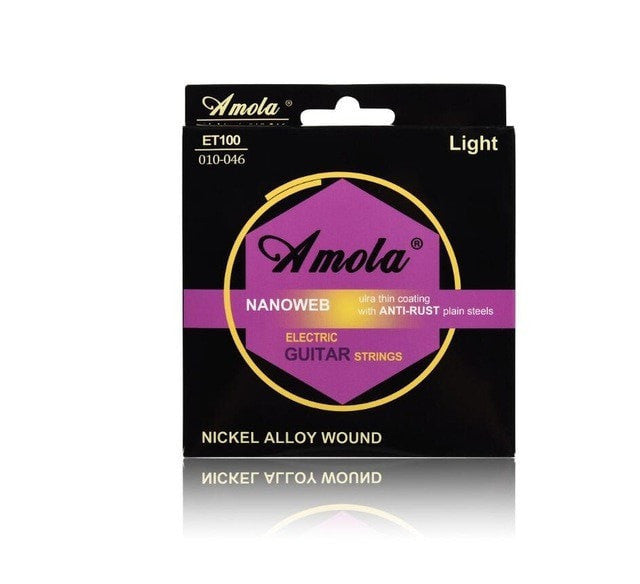 Amola Super light Nanoweb 009 010 - Sunfield Music