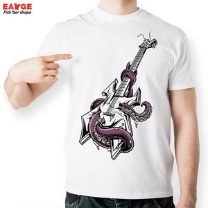 Octopus Custom Axe T-Shirt