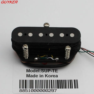 GUITARHEADS PICKUPS - TELE SUPER TWANG - BLACK - Bridge - Sunfield Music