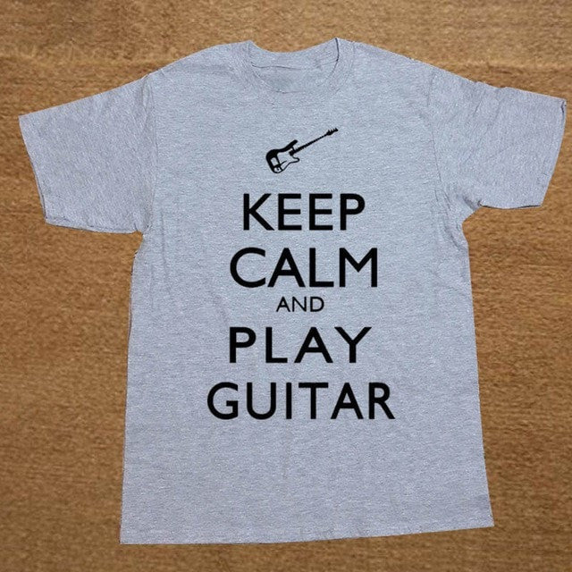 Keep Calm and Play Guitar T-shirt