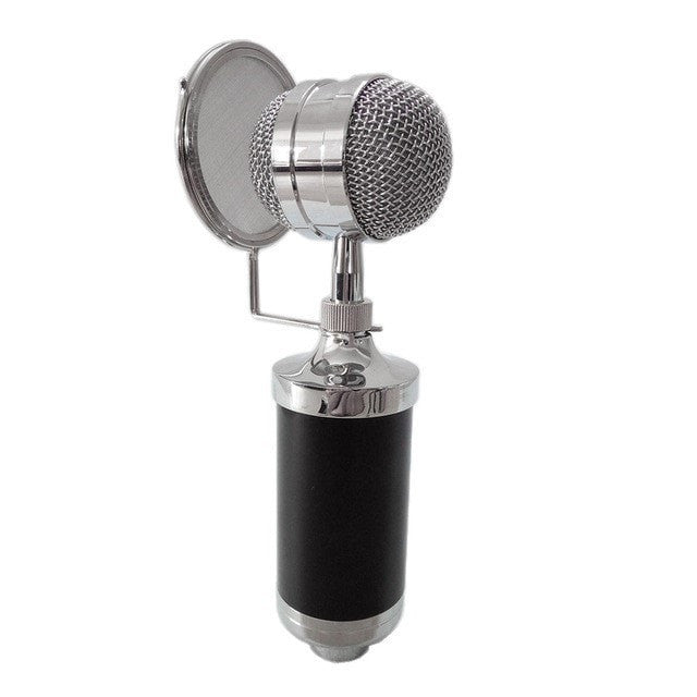 B-8000 Studio Recording Condenser Microphone with 3.5mm plug - Sunfield Music