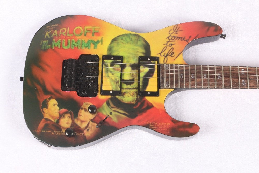 Kirk Hammett KH-2 M-II KARLOFF Mummy Electric Guitar with Custom Finish