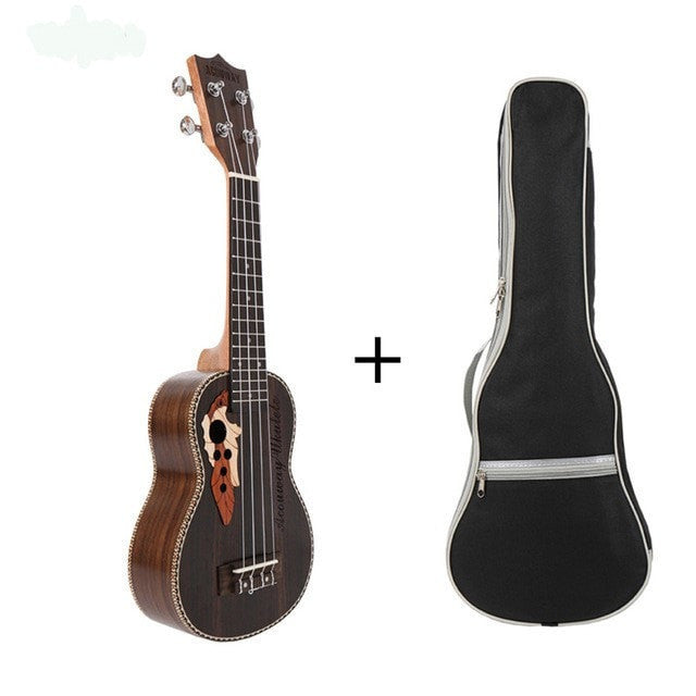 "Acouway 21"" Soprano or 23"" Custom Concert Ukulele - Sunfield Music"