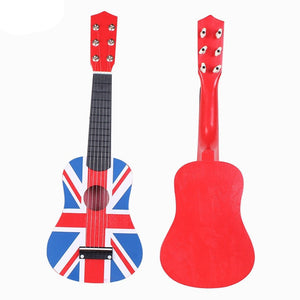 "Kid's British Flag 21"" Acoustic Steel String Guitar"