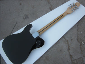 Black with White Pickguard Custom TL Electric Guitar - Sunfield Music