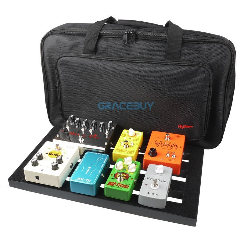 Guitar Pedal Board Setup by Gracebuy - Sunfield Music
