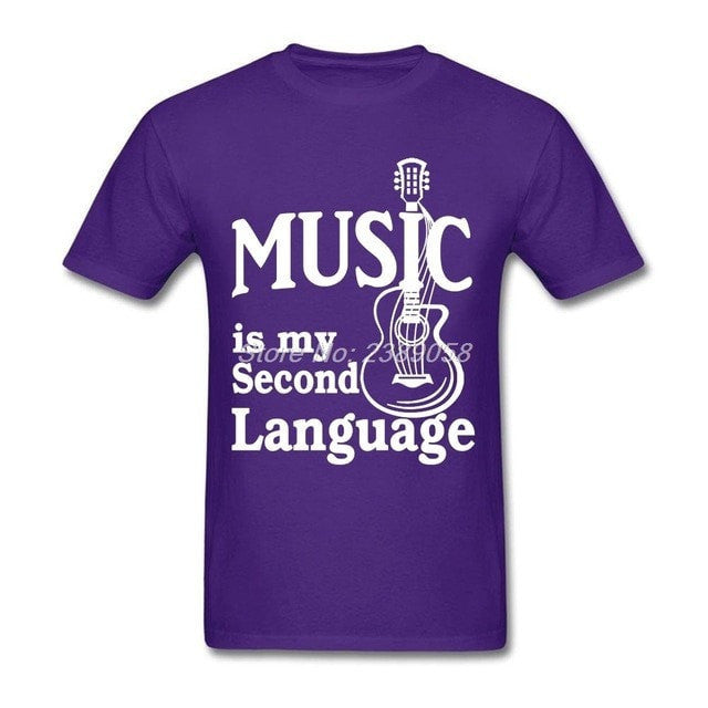 Music is my Second Language T-Shirt