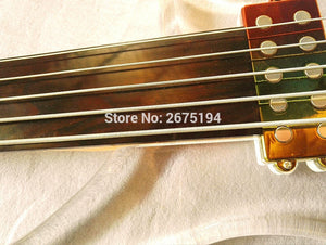 Acrylic Crystal Lit Fretless Bass - Sunfield Music