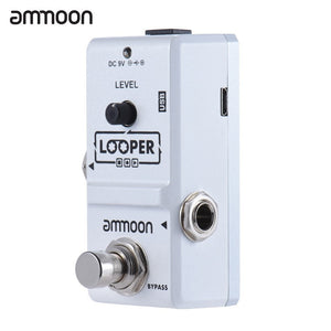 Ammoon AP-09 Nano Loop Effect Pedal Looper Electric Guitar Effect Pedal