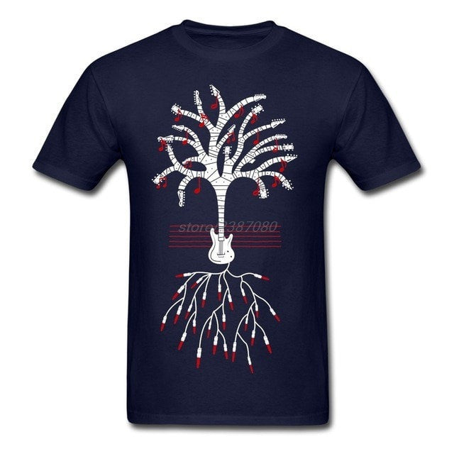 Guitars are my Roots T-Shirt - Sunfield Music
