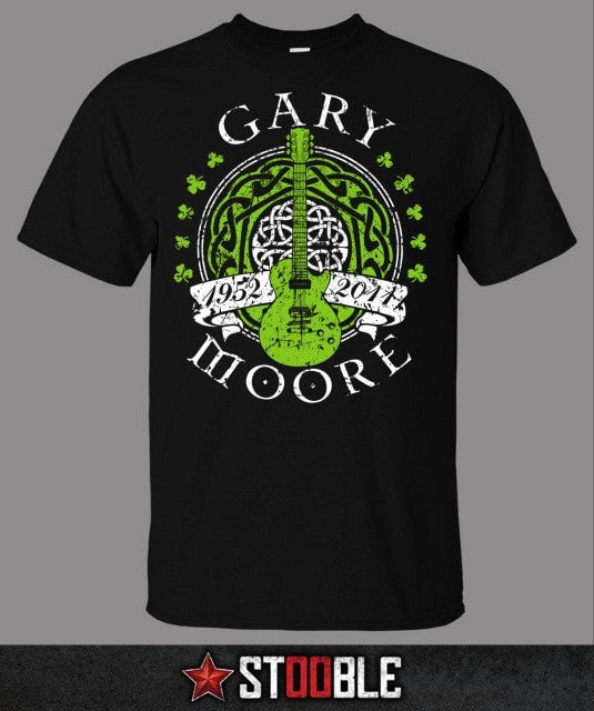 Gary Moore T-Shirt by Stooble - Sunfield Music